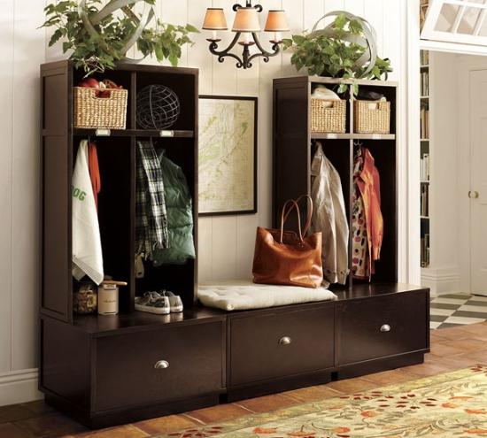 Sistem de dulapuri modulare si compacte pentru hol