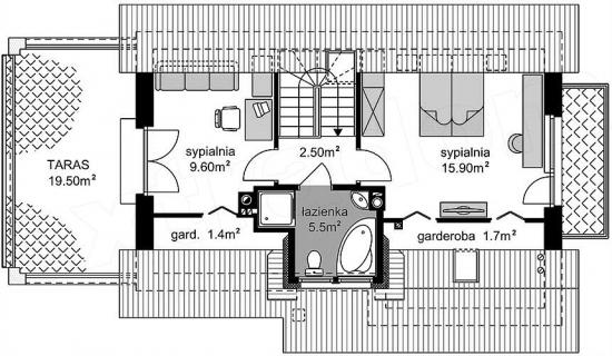 Etaj casa de 36.6 mp