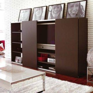 Stand si comoda TV cu usi culisante
