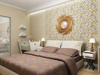Decor dormitor modern cu colt amenajat pentru copil