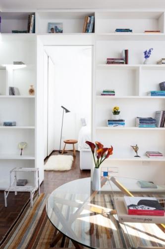 Decor cu alb pentru un interior mic