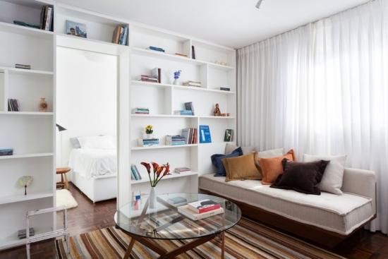 Amenajarea apartamentelor mici - trucuri pentru organizarea eficienta a spatiului
