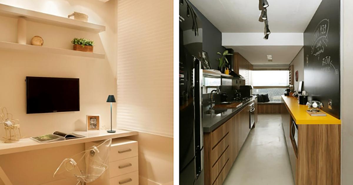 Apartamente mici  amenajate in mod ingenios - 10 trucuri interesante