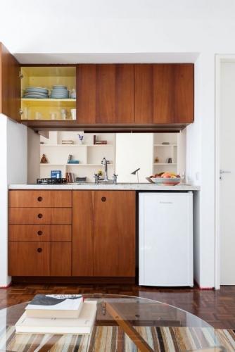 Mobilier compact pentru bucatarie mica