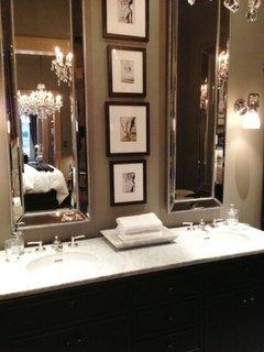 Efect de marire a spatiului cu ajutorul oglinzilor verticale