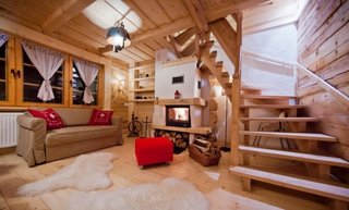 Cabana cu living confortabil