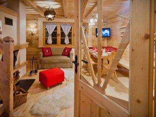 Living cabana din lemn