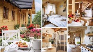 Amenajare casa din lemn