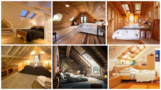 Dormitoare amenajate la mansarda casei