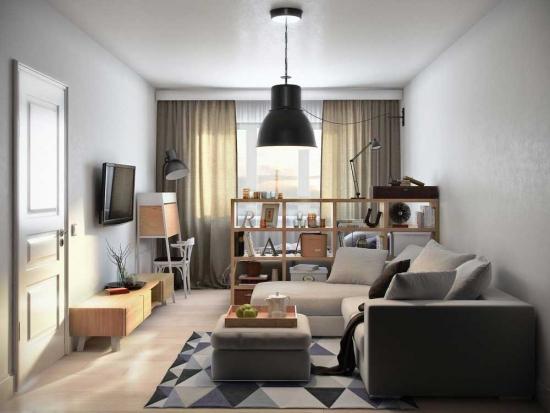 Design living garsoniera