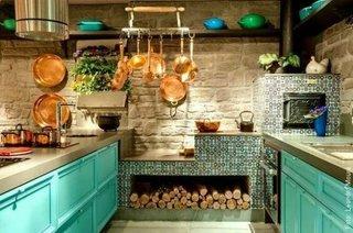 Soba lemne cu plita si cuptor
