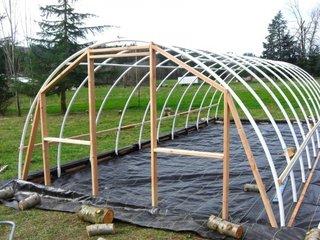 Construire solar mare din tevi PVC
