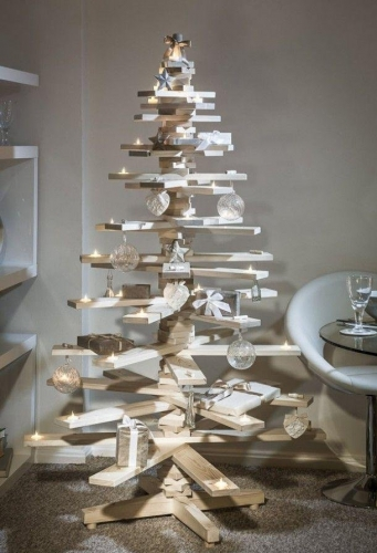 Copac pentru Craciun handmade