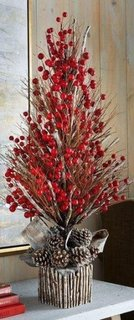 Decoratiune pomisor cu merisoare