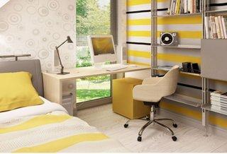 Dormitor cu mobilier modern