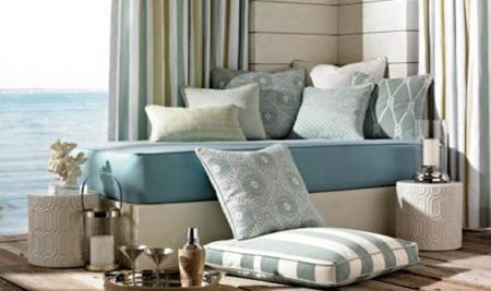 Idei de design interior cu materiale textile