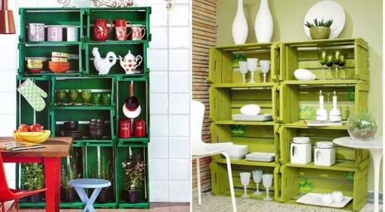 Idei decorare casa in stil rustic cu ladite din lemn refolosite