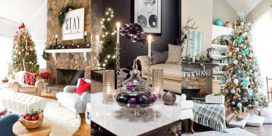 Cum iti poti decora livingul pentru Craciun