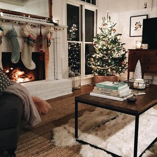 Idee decorare sufragerie pentru Craciun