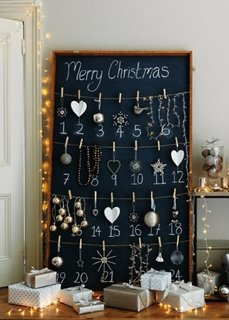 Calendar advent de Craciun handmade