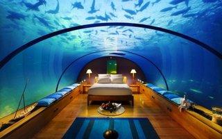 Dormitorul subacvatic