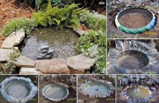 Cum poti construi un mic lac chiar la tine in curte