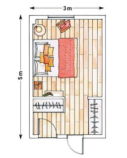Schita amenajare dormitor