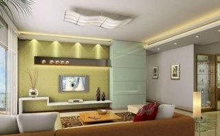 Amenajare moderna perete televizor
