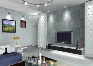 Design elegant perete televizor