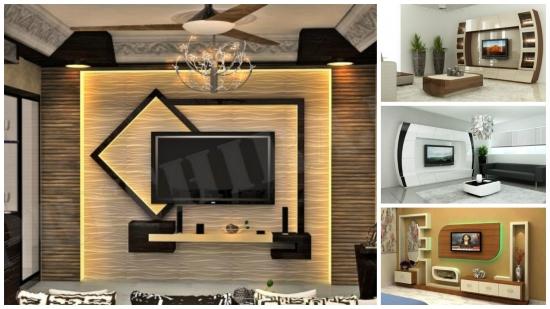 Iata cateva idei noi pentru aranjarea peretelui cu TV