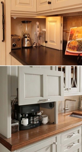 Coffee Corner Countertop Appliance Garage
