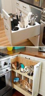 Organizare sertare bucatarie