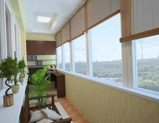Jaluzele din bambus pentru ferestrele de la balcon