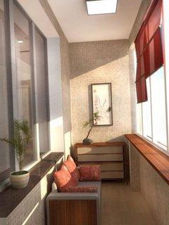 Peretii din balcon placati cu gresie mica tip mozaic