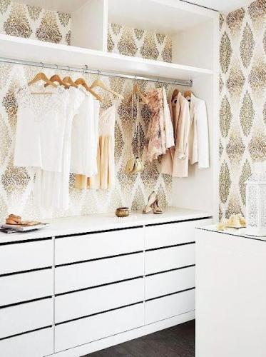 Idei pentru redecorarea dressing-ului