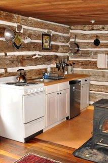 Bucatarie casa veche renovata