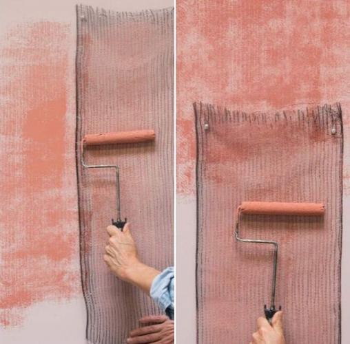 Plasa prinsa de perete si aplicat var peste