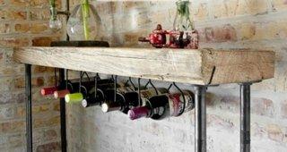 Suport DIY sticle de vin