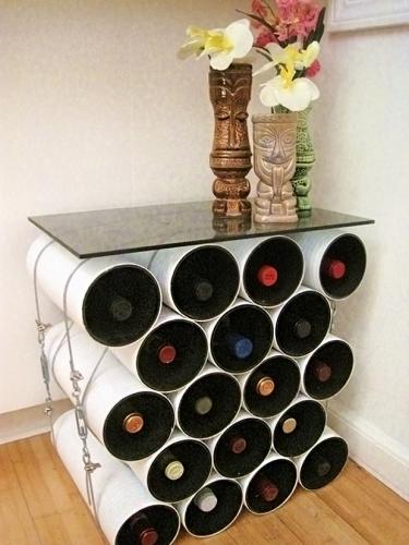 Suport mare sticle de vin