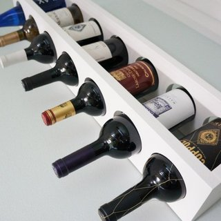 Suport sticle de vin din MDF