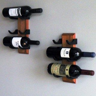 Suport sticle de vin prinse pe perete