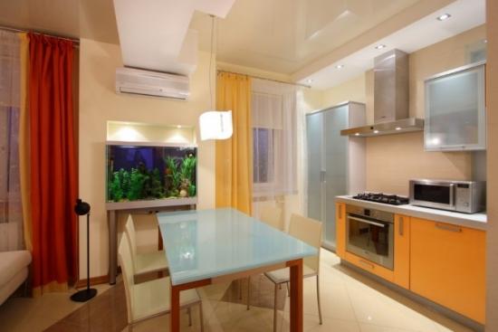 Bucatarie cu decor modern