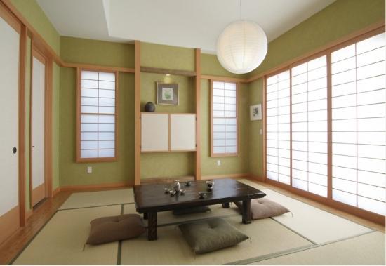 Camera traditionala japoneza pentru servirea ceaiului