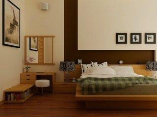 Dormitor de inspiratie zen