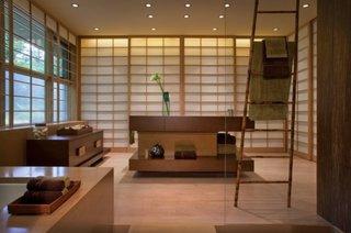 Lemn de bambus un element de decor pentru un interior in stil japonez