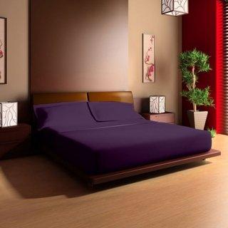 Model oriental de pat dublu din lemn