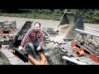 Cum se monteaza rigolele pentru ape pluviale