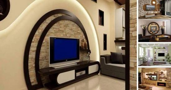 Televizorul in living - Idei pentru o amplasare si integrare cat mai fireasca in decor