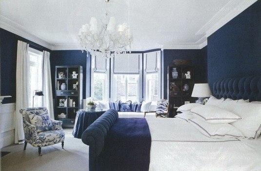Zugraveala albastra si tavan alb