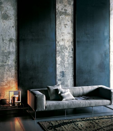 Amenajare industrial minimalista